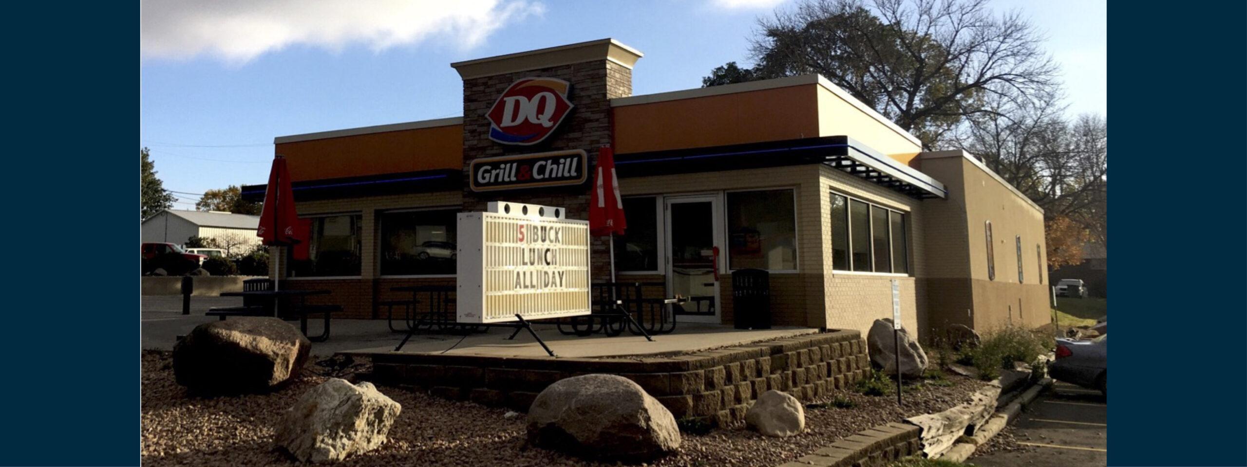Humboldt, IA Fourteen Foods DQ Restaurant