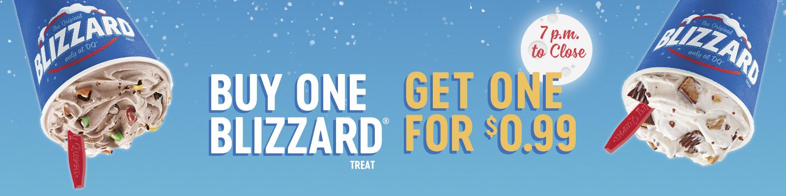 BOGO $0.99 Blizzard